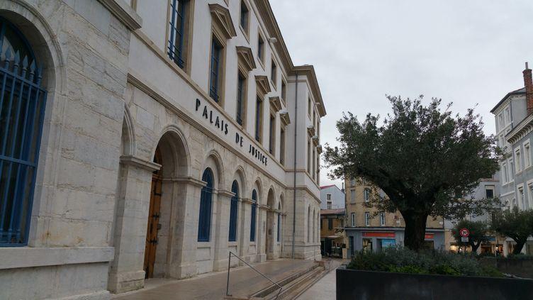 Le tribunal de Valence, dans la Drôme. (SUZANNE SHOJAEI / FRANCE-BLEU DRÔME-ARDÈCHE)