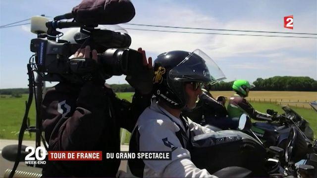 Tour de France : ceux qui filment la course