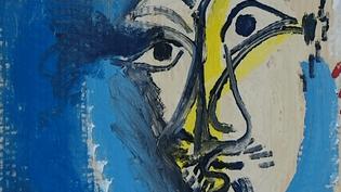 Le mousquetaire à l'épée (détail), 1969. Dans cette huile sur carton, Picasso reprend un célèbre tableau du Greco.  (Pablo Picasso / Musée Zervos)