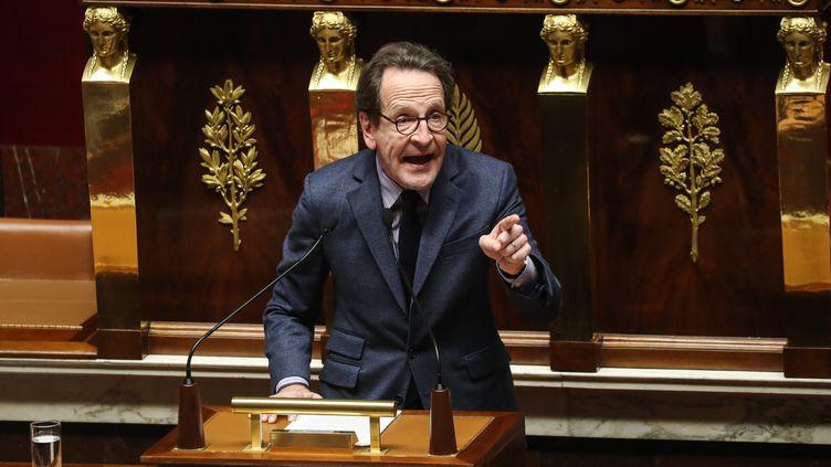 Le député LREM Gilles Le Gendre, le 3 mars 2020 à l'Assemblée nationale. (LUDOVIC MARIN / AFP)