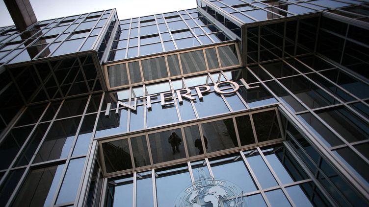 Bâtiment d'Interpol à Lyon, le 19 octobre 2007. (FRED DUFOUR / AFP)