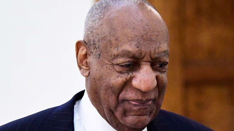 Bill Cosby quelques jours avant l'ouverture de son deuxième procès pour agression sexuelle (4 avril 2018)  (Corey Perrine / AP / SIPA)