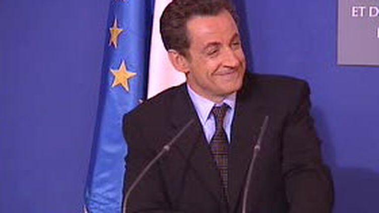 Nicolas Sarkozy (archives) (© F3)
