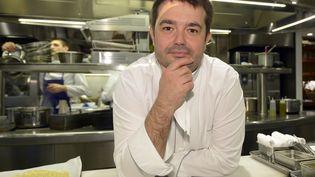Jean-François Piège ouvrira en septembre son nouveau restaurantau sein de l'Hôtel de la Marine à Paris. (BERTRAND GUAY / AFP)