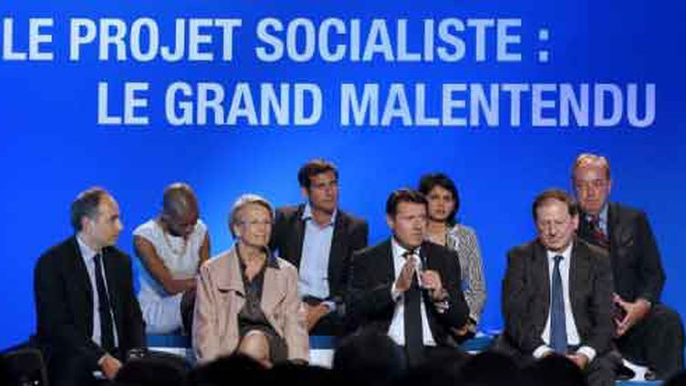 La convention UMP sur le projet PS (AFP)