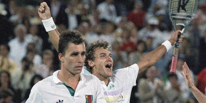 Ivan Lendl face à Mats Wilander à l'US Open