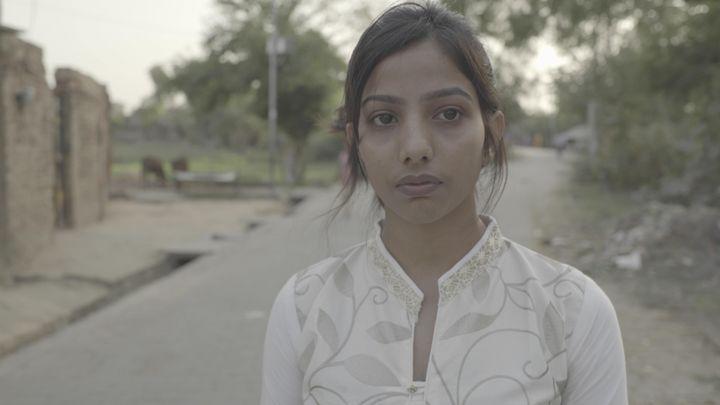 Diksha Singh, la fille deJagendra Singh. (FORBIDDEN STORIES)