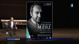 L'affiche du spectacle de Patrick Timsit (France 3)