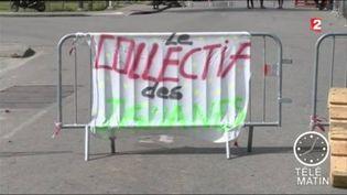 La Guyane reste paralysée par le mouvement de protestation. (FRANCE 2)