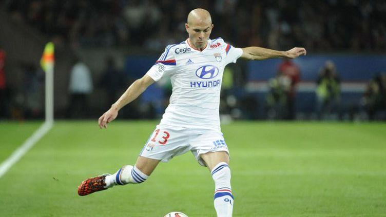 Christophe Jallet, le latéral droit de l'Olympique Lyonnais. (JEAN MARIE HERVIO / DPPI MEDIA)