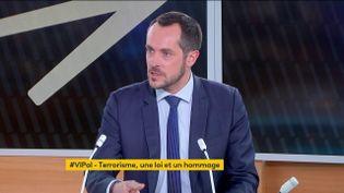 """Nicolas Bay était, vendredi 30 avril, l'invité de """"Votre Instant Politique"""". (FRANCEINFO)"""