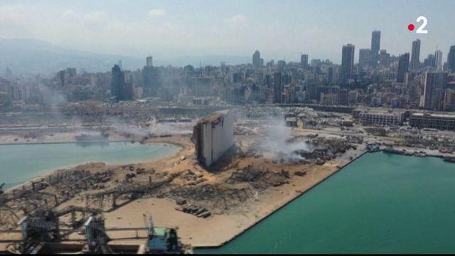 Explosions à Beyrouth : une ville en ruines