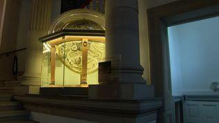 Le globe de Coronelli à l'observatoire astronomique de Strasbourg. (France Télévision)