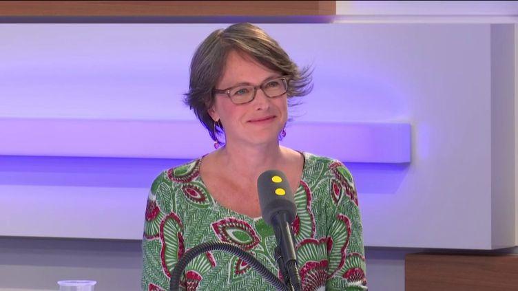 Stéphanie Loridon était l'invitée de franceinfo lundi 13 mai. (FRANCEINFO / RADIOFRANCE)