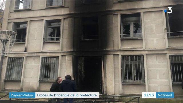 """Puy-en-Velay : des """"gilets jaunes"""" jugés pour avoir incendié la préfecture"""