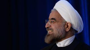 Le président iranien, Hassan Rohani, le 26 septembre 2013 à New York. (EMMANUEL DUNAND / AFP)