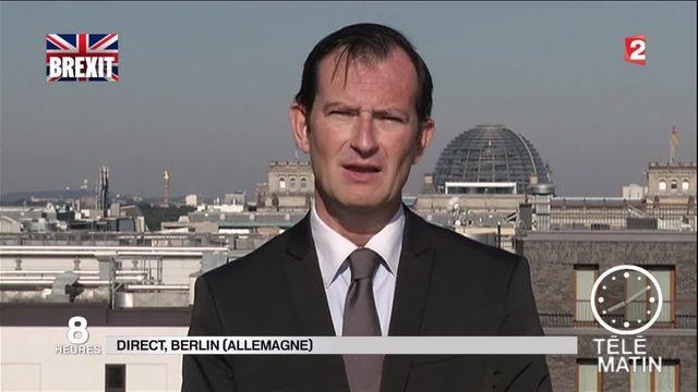 """Brexit : pour l'Allemagne, c'est """"une grosse catastrophe"""""""