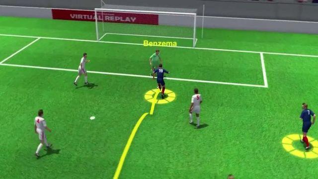France-Suisse : l'égalisation de Karim Benzema (1-1)