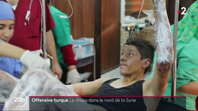 Offensive turque : le chaos dans le nord de la Syrie