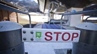 La station de ski de Serre-Chevalier (Hautes-Alpes), le 25 novembre 2020. (THIBAUT DURAND / HANS LUCAS / AFP)
