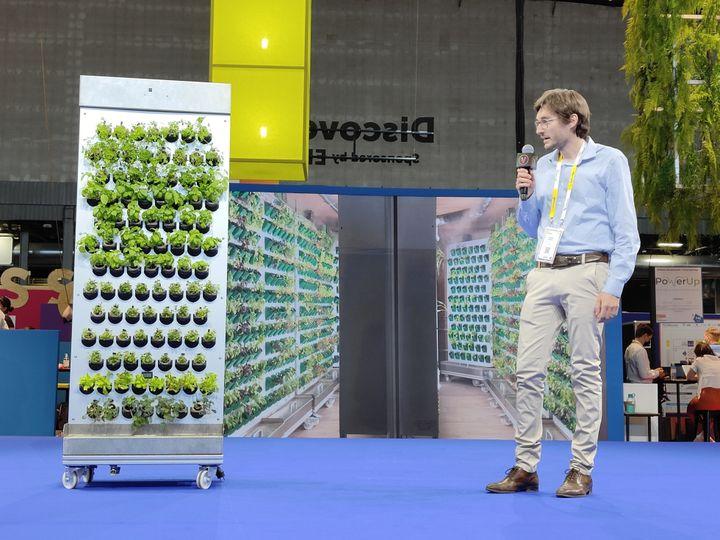 Le Farmcube, grâce à ses multiples possibilités, attire autant les centres de recherche que les restaurants gastronomiques. (Faustine Mazereeuw)