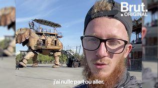 VIDEO. À la rue à 21 ans, il raconte (BRUT)
