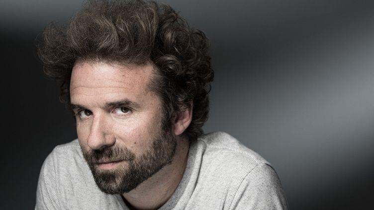 Cyril Dion, en septembre 2019, au festival Les Correspondances, à Manosque (Alpes-de-Haute-Provence). (JOEL SAGET / AFP)