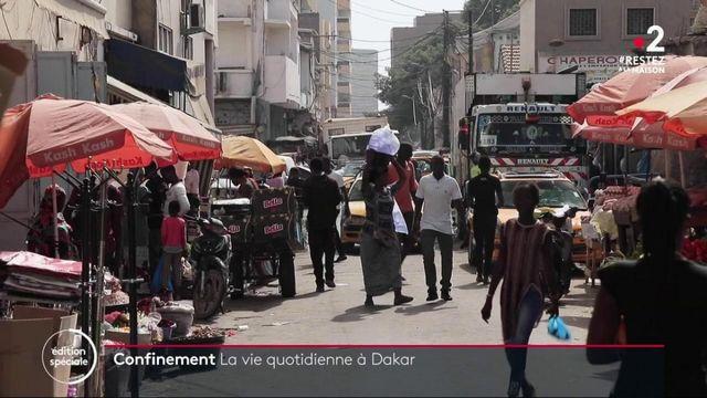 Confinement : la vie quotidienne à Dakar bouleversée