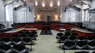 La cour d'assises de Savoie, à Chambéry, où Nordahl Lelandais comparaîtradu 3 au 12 mai pour le meurtre du caporal Arthur Noyer en 2017. (PHILIPPE DESMAZES / AFP)