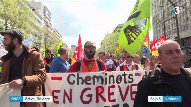SNCF : grève, acte III