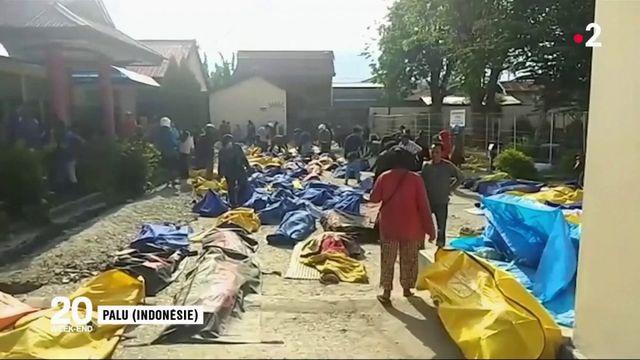 Tsunami : l'Indonésie compte ses morts