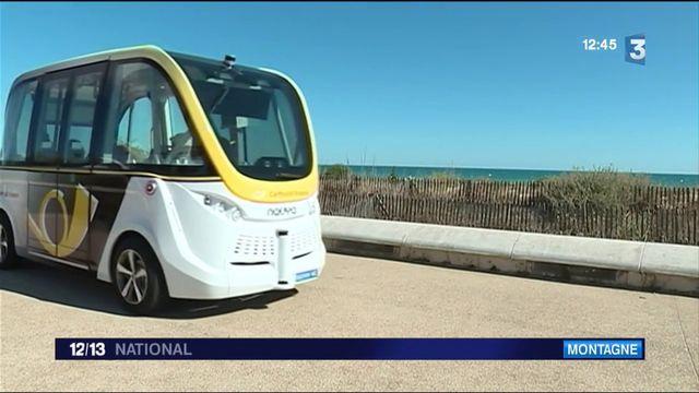 Hérault : une navette sans chauffeur, 100% électrique