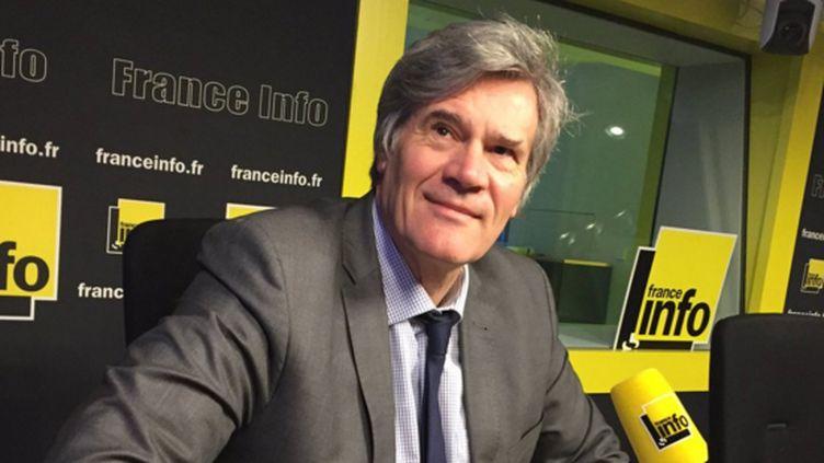 Stéphane Le Foll invité de France Info (JEAN-FRANÇOIS ACHILLI / FRANCE-INFO)