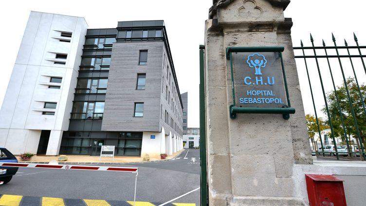 Le CHU de Reims (Marne), où est hospitalisé Vincent Lambert (REMI WAFFLART / MAXPPP)