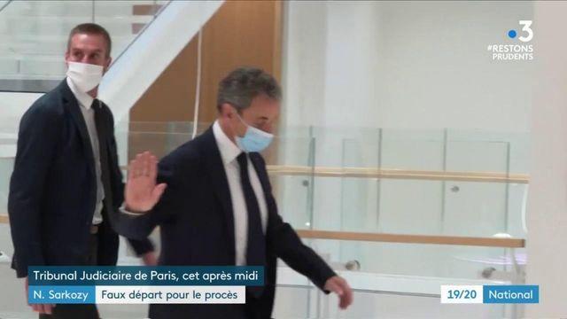 """Procès des """"écoutes"""" de Nicolas Sarkozy : le début repoussé pour raison de santé"""