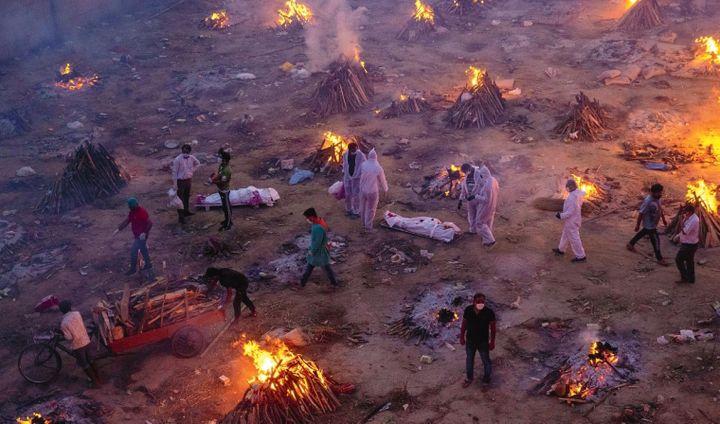New Delhi, Inde, 23 avril 2021 (© Danish Siddiqui / Reuters)