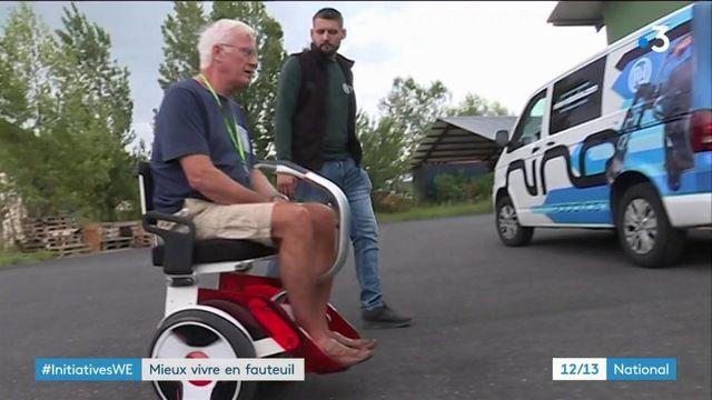 Hérault : les fauteuils roulants design de Nino Robotics