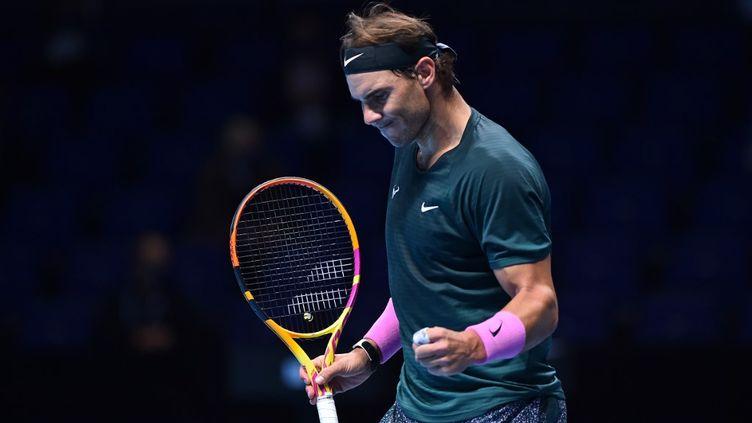 Rafael Nadal rejoint le dernier carré du Masters (GLYN KIRK / AFP)