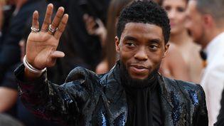 L'acteur américainChadwick Boseman à Hollywood, le 24 février 2019. (ROBYN BECK / AFP)
