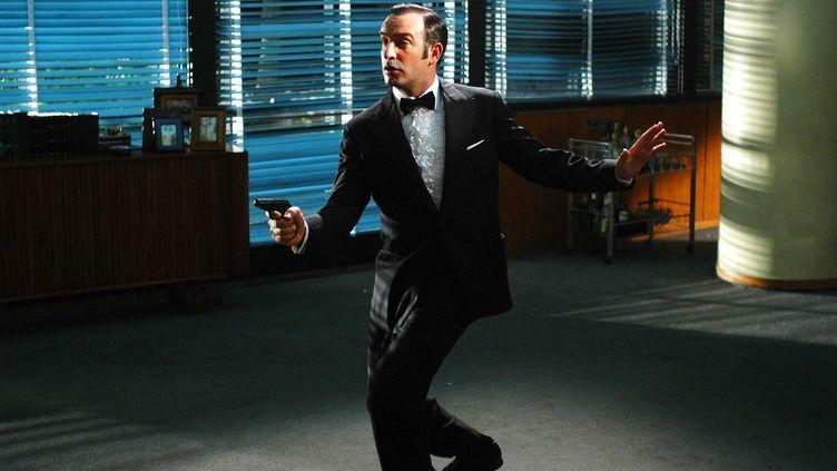"""Jean Dujardin dans une scène du film """"OSS 117 : Rio ne répond plus"""" de Michel Hazanavicius. (NANA PRODUCTIONS/SIPA)"""