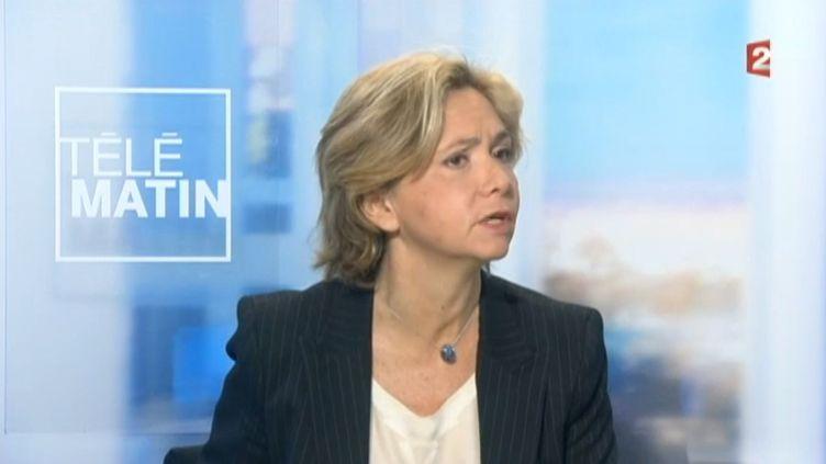 """Valérie Pécresse, députée UMP des Yvelines, sur France 2, dans """"Les 4 vérités"""", le 3 mars 2015. ( FRANCE 2)"""