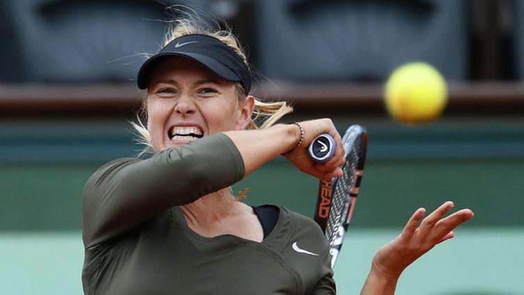 La puissance de la Russe Maria Sharapova