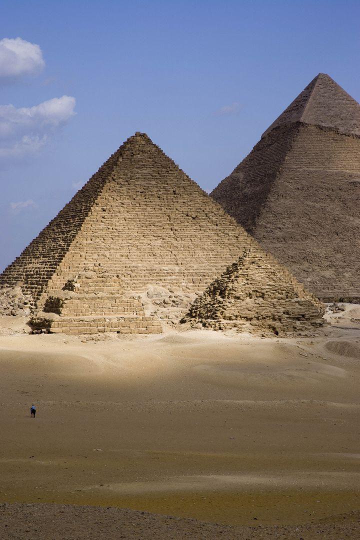 Pirâmide de Siops no Cairo, Egito.  & Nbsp;  (Jacques Serpinsky / Jacques Serpinsky)