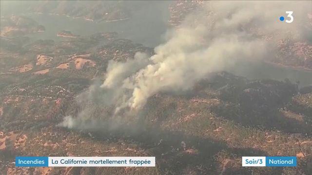 La Californie lutte toujours contre les incendies