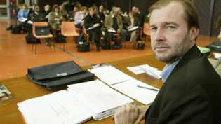 Pascal Champvert, le 26 mars 2004. (MOUILLAUD RICHARD  / MAXPPP)