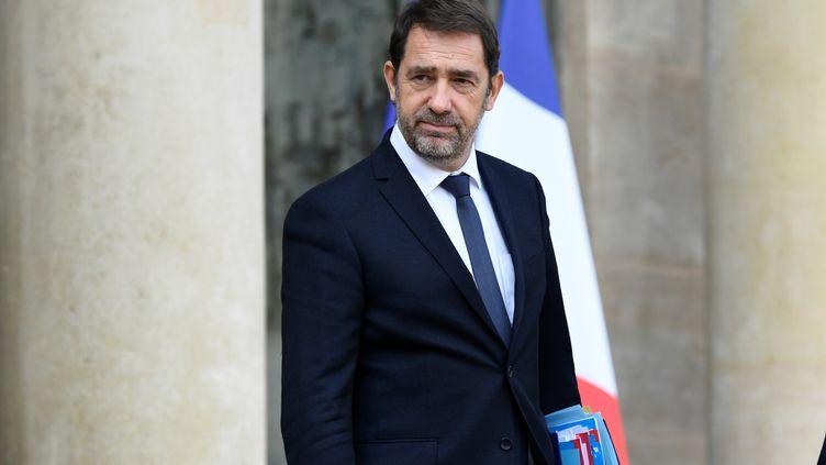 Le ministre de l'Intérieur Christophe Castaner à l'Elysée, le 9 octobre 2019. (BERTRAND GUAY / AFP)