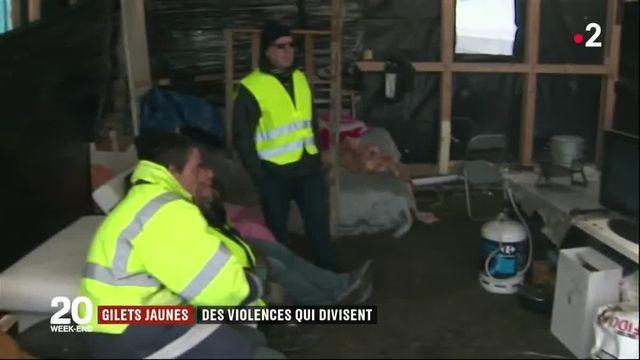 """""""Gilets jaunes"""" : des violences qui divisent"""