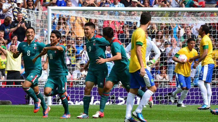 Le Mexique triomphe du Brésil en finale du tournoi olympique