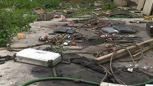 Un propriétaire retrouve sa maison dans un état de délabrement après l'avoir louée pendant quatre années. (FRANCE 2)