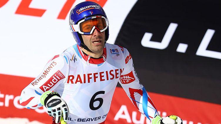 Le skieur français Adrien Théaux